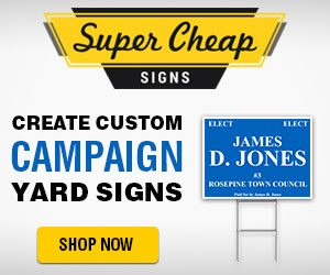 tips for designing your campaign yard signs