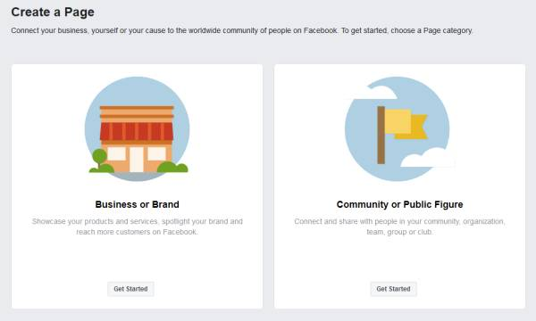 Steps for making a campaign facebook page