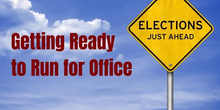 Start a local political campaign today
