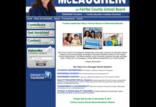 Megan McLaughlin for Fairfax County School Board