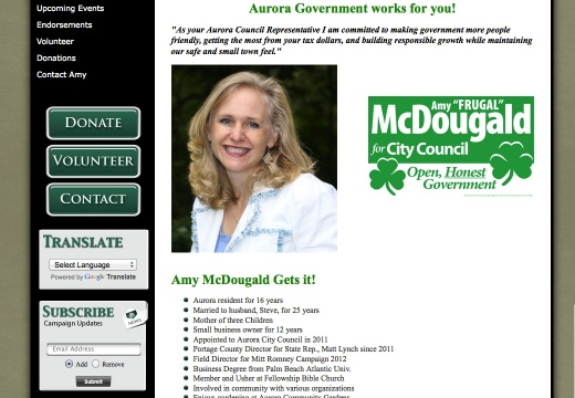 Elect Amy McDougald for Aurora City Council