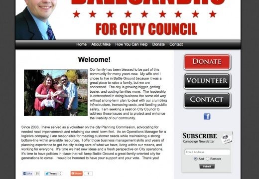Mike Dalesandro for Battle Ground City Council