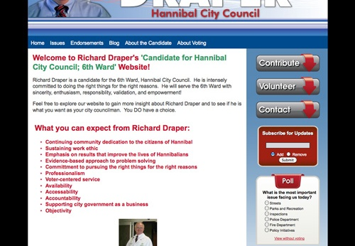 Richard Draper for Hannibal City Council