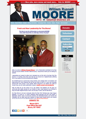 William Russell Moore for New York City Council - District