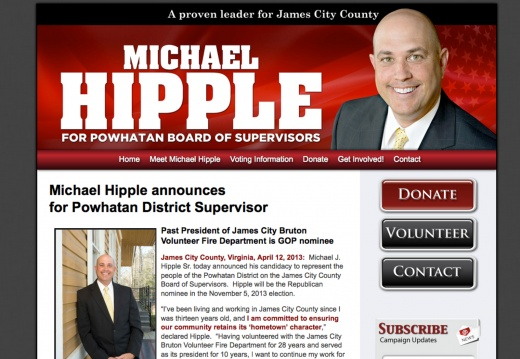 Michael Hipple for Powhatan District Supervisor