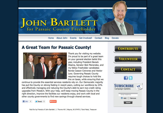 Freeholder Websites - example gallery