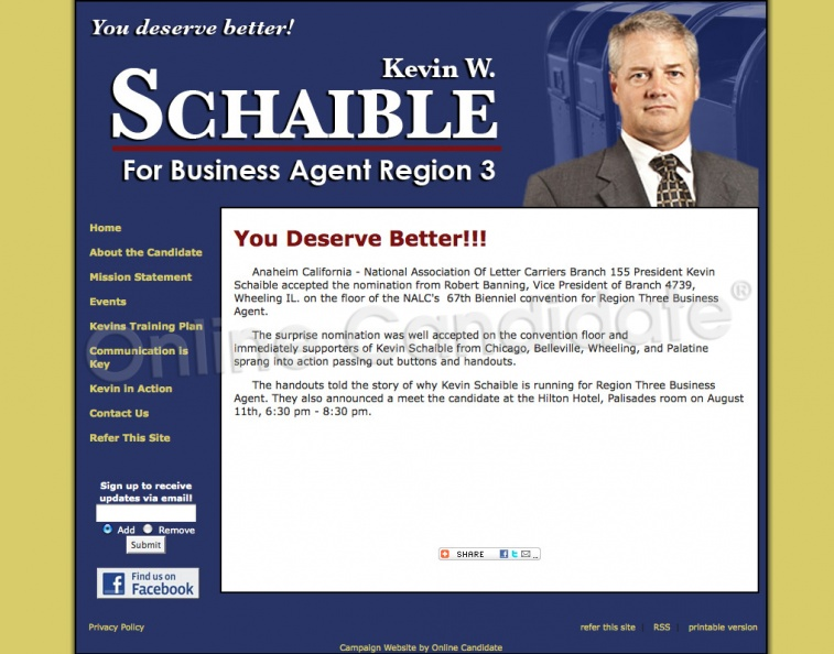 Kevin Schaible for National Association Of Letter Carriers Region Three.jpg