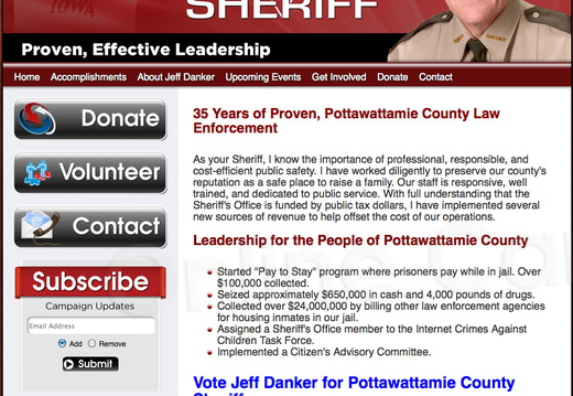 Jeff Danker for Pottawattamie County Sheriff