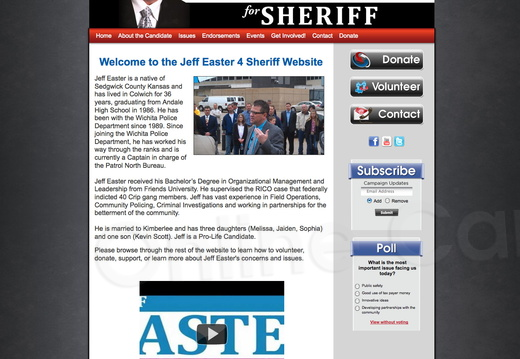 Jeff Easter for Sheriff