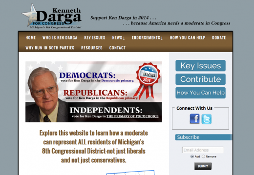 Kenneth Darga for Congress - Michigan\'s 8th Congressional District