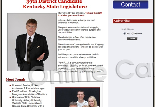 Jonah Mitchell for Kentucky State Legislature