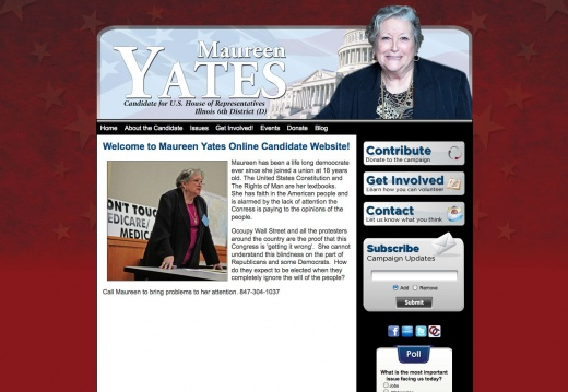 Maureen Yates for US House of Representatives - Illinois 6th
