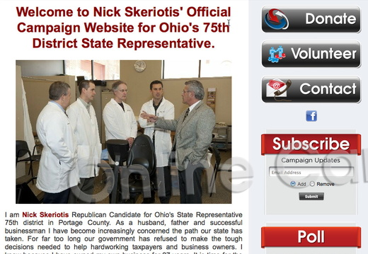 Nick Skeriotis for Ohio\'s 75th District State Representative