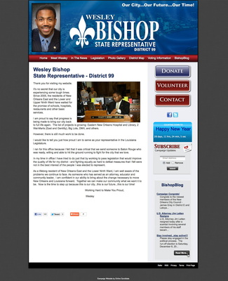 Wesley Bishop for Louisiana State Representative - District 99