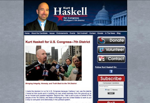 Kurt Haskell for Congress - 7th District