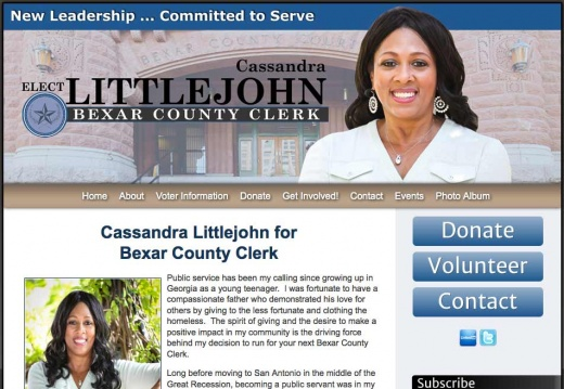 Cassandra Littlejohn for Bexar County Clerk