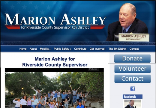 Marion Ashley for Riverside County Supervisor