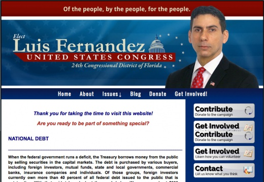 Luis Fernandez for Congress