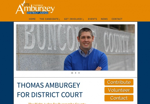 Thomas Amburgey for District Court Judge