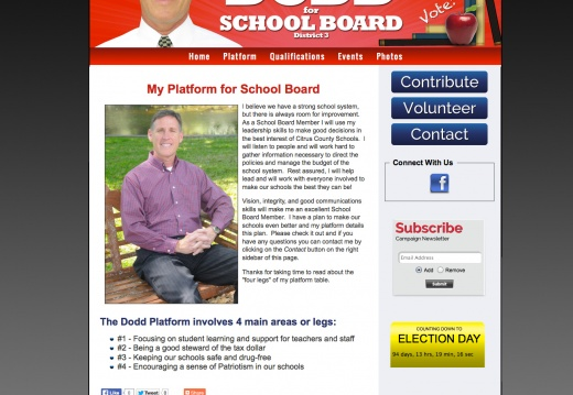 Douglas Dodd for School Board