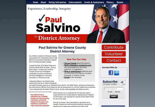 District Attorney Websites