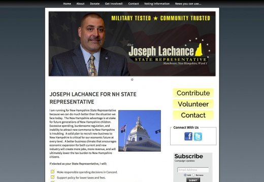 Joseph Lachance for New Hampshire State Representative