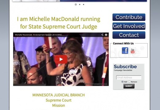 Michelle MacDonald Minnesota State Supreme Court Judge