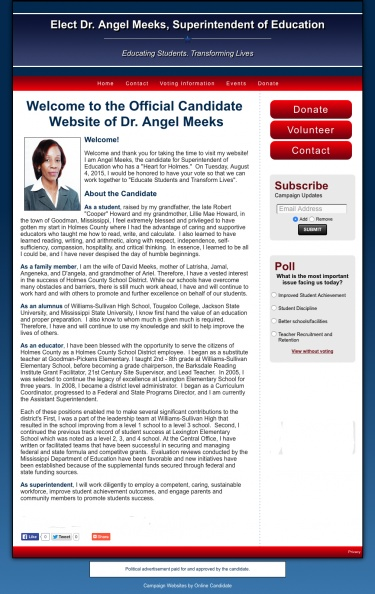 Elect Dr. Angel Meeks, Superintendent of Education.jpg