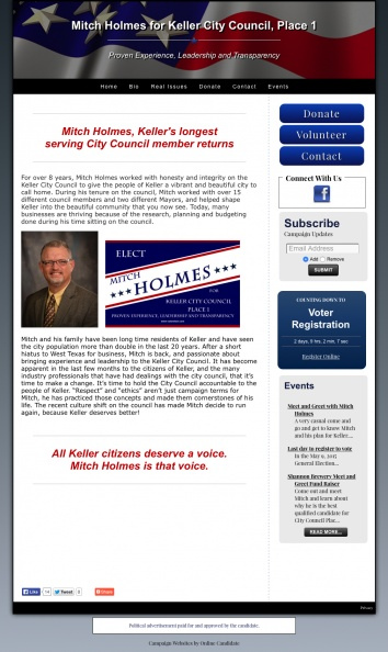 Mitch Holmes for Keller City Council, Place 1.jpg