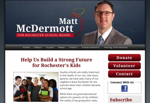 Matt McDermott for Rochester School Board