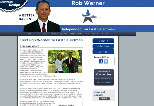 Rob Werner for First Selectman
