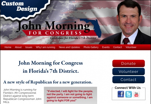John Morning for Congress in Florida's 7th District