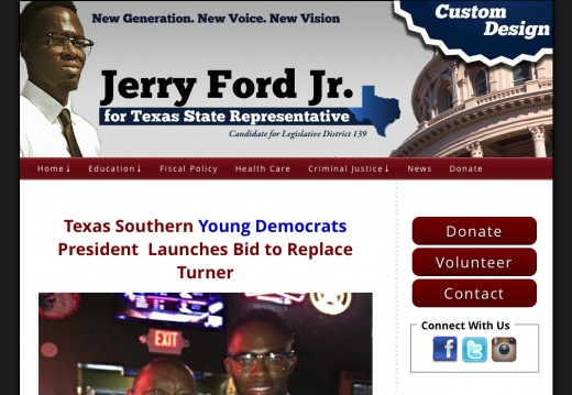 Jerry Ford Jr for State Representative District 139