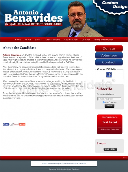 Welcome to the Antonio Benavides for 339th District Criminal Court Judge Campaign!.jpg