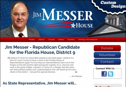 Jim Messer for the Florida House - District 9