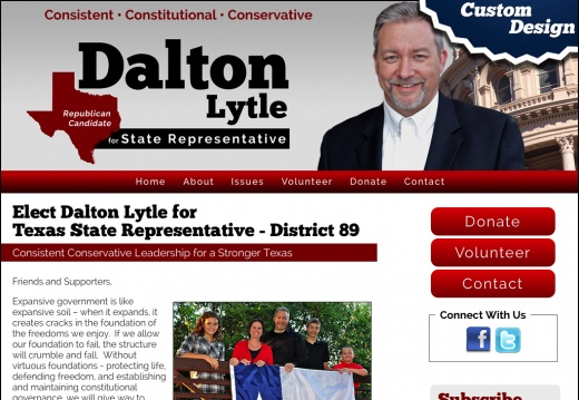 Dalton Lytle for Texas State Representative - District 89
