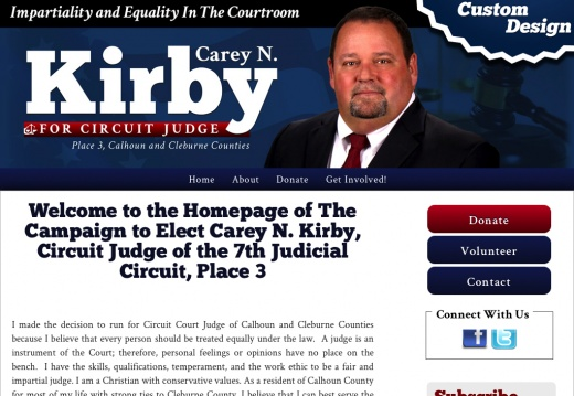 Carey N. Kirby, Circuit Judge of the 7th Judicial Circuit, Place 3
