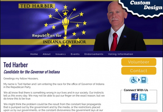 Ted Harber for the Governor of Indiana