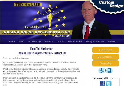 Ted Harber for  Indiana House Representative   District 50