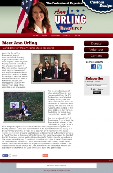 Ann Urling Candidate for West Virginia State Treasurer.jpg