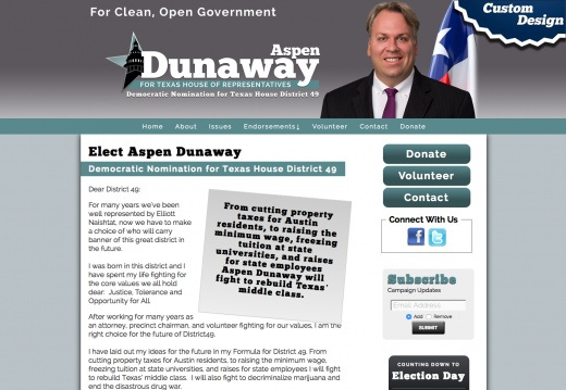 Elect Aspen Dunaway Democratic Nomination for Texas House District 49