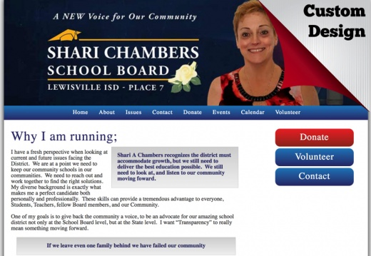 Shari A Chambers for Place 7 LISD School Board