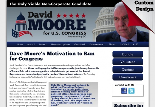 Dave Moore's Motivation to Run for Congress