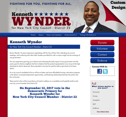 Kenneth Wynder for New York City Council Member - District 22