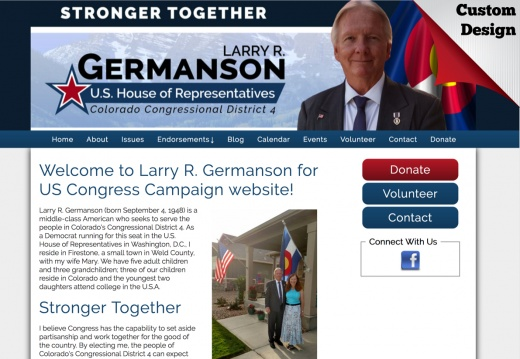 Larry R. Germanson for US Congress