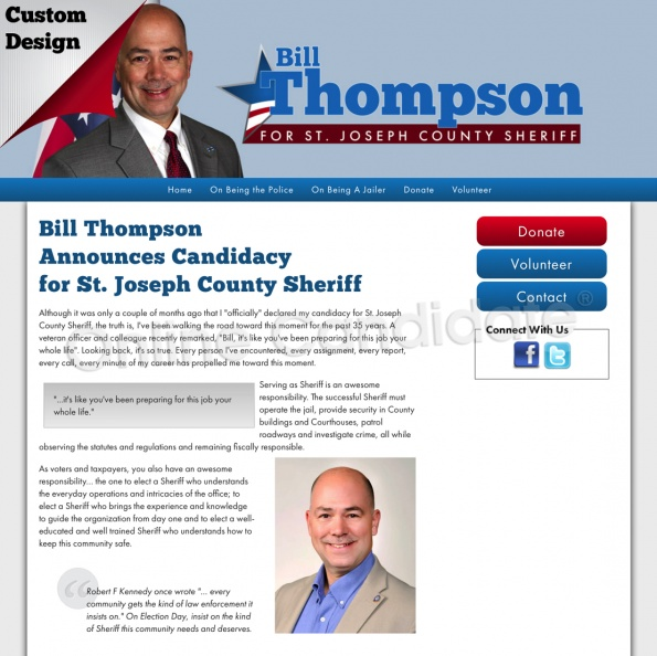 Bill Thompson Announces Candidacy for St. Joseph County Sheriff.jpg
