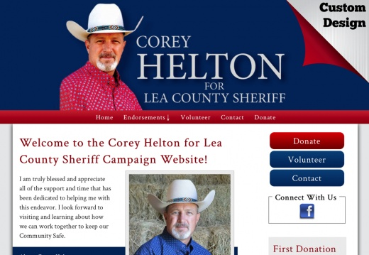 Corey Helton for Lea County Sheriff Campaign