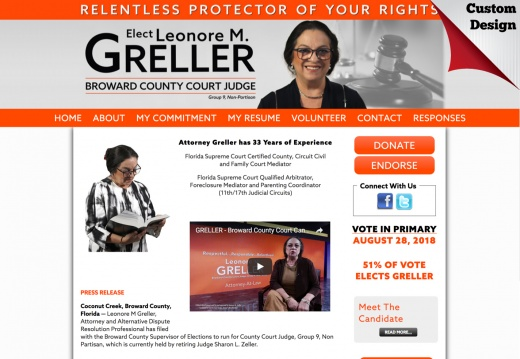 Leonore M. Greller for Broward County Court Judge