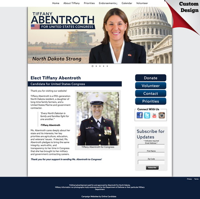 Tiffany Abentroth for United States Congress