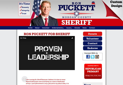 Ron Puckett for Sheriff